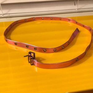Roxy Accessories - metallic roxy belt